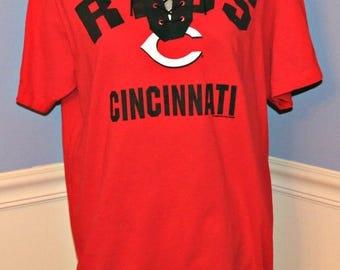 Cincinnati Reds Lace Up T-Shirt