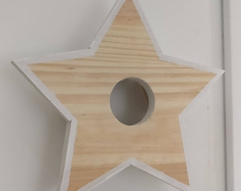 Star light Wall Sconce wood STELLA LILY WOOD rgb