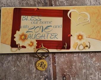 Key Holder, Key Ring Holder, Housewarming Gift, Gift for Her, Anniversary Gift, Home Decor, Gift for Mom, Wedding Gift, Home