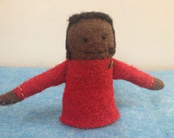 Lt. Uhura Finger Puppet