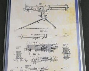 Military Patent Art Prints Set