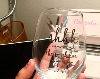 Bachelor Wine Glass