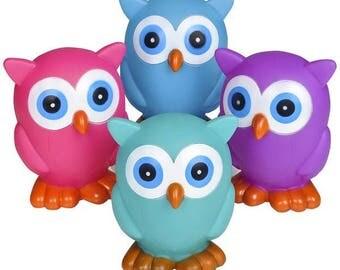 """6"""" Rubber Hoot Owl"""
