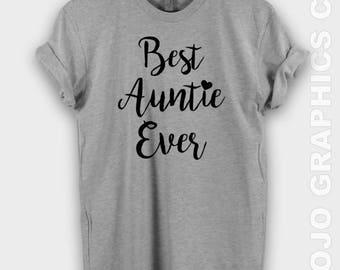Best Auntie Ever shirt - best auntie ever tshirt, auntie shirt, auntie tshirt, auntie tank, aunt shirt, aunt shirts, bae