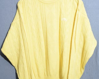 ROBE DI KAPPA-sweater casual sweater 90s Vintage TG 46 (E50)