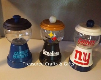 Sports themed Candy Dishes
