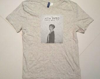 Justin Bieber Purpose Tour H&M T Shirt / men Size M
