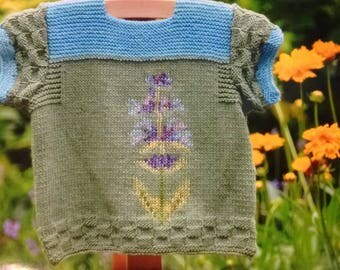 Baby Sweater Salvia