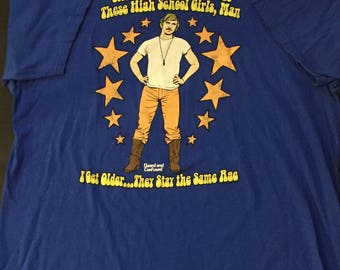Dazed and Confused David Wooderson High School OG Exclusive 2013 Size XL
