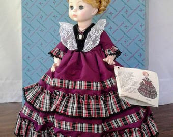 "Madame Alexander Doll ""Martha Randolph"" First Lady Doll Collection"