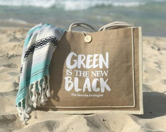 Eco-Friendly Jute Tote Bag