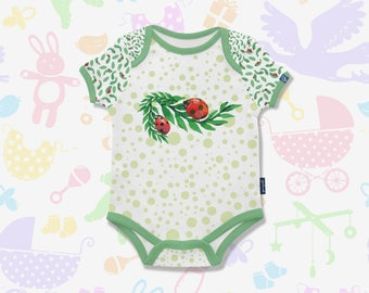 Ladybug Baby Bodysuit Baby Gift Ladybug Onesie Ladybug Baby Clothes Ladybug Toddler Shirt Trending Baby Clothes Custom Bodysuit onesie girl
