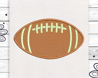 Football embroidery design Discount 10% Embroidery design 4 sizes INSTANT DOWNLOAD EE5031