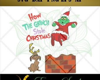 The Grinch Saying svg, Printable Design, Files for Cricut, Cutting Files, Vector Art, Digital Cut, Files for Silhouette.
