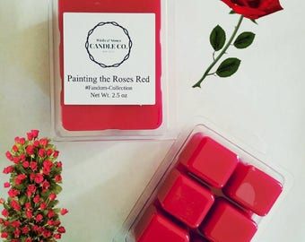 Painting the Roses Red, fresh cut roses, Gifts for her, Christmas gifts, Fresh fragrance, Christmas gifts, Alice in Wonderland