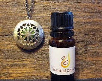 Aromatherapy Locket & Oil Blend