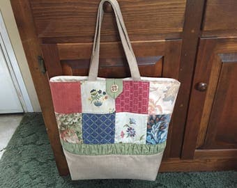 Luxury Quilted Tote Bag