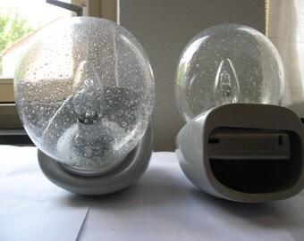Koninklijke Sphinx-bathroom Design lamps, 2 pieces, Maastricht.