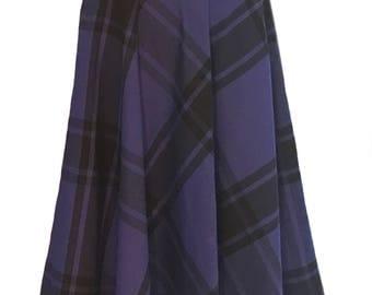 Vintage swing plaid swing skirt, Liz Claiborne