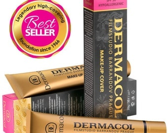 Free shipping DERMACOL MAKE-UP Cover Legendary high covering make-up
