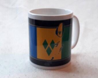 St VINCENT & The GRENADINES Christian inspirational mug Independence Heritage