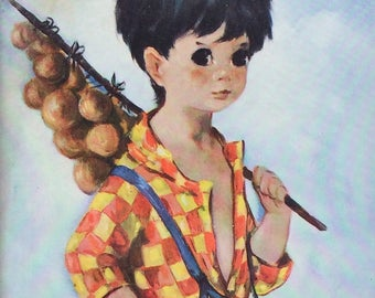 Dallas Simpson Onion Boy Framed Print