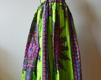 African Women's Dress, African print dress,  long dress, women's dress.