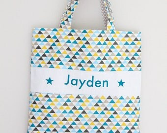 Any tote bag personalized kids tote bag