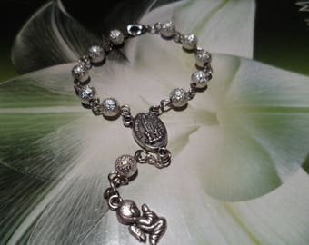 1 Tenner silver Stardust beads