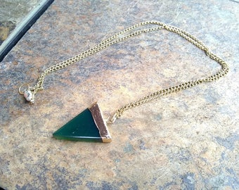 Green Pizza Necklace