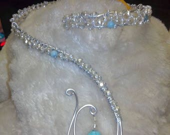 For the bride - necklace & bracelet set