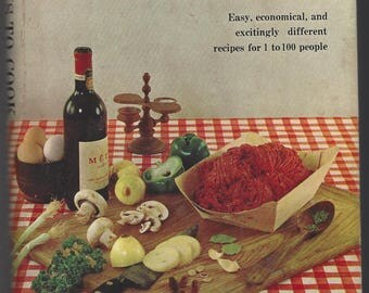 1960-365 WAYS To COOK HAMBURGER