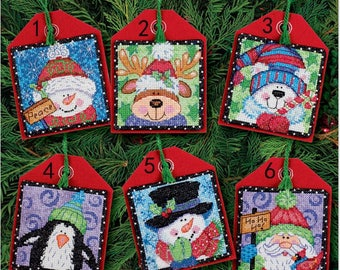 Christmas counted stitch Embroidery Kit