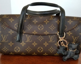 LOUIS VUITTON Monogram Sonatine Handbag