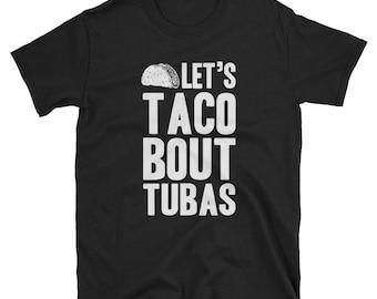 Tuba Shirt Tuba Player Gift Funny T-Shirt