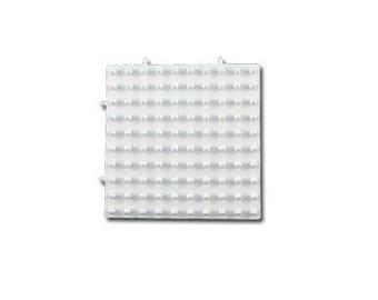 Plaque blanche pour perles Hama Maxi - Carré emboîtable - Ref 23368 ---------- Jusqu'à épuisement du stock !