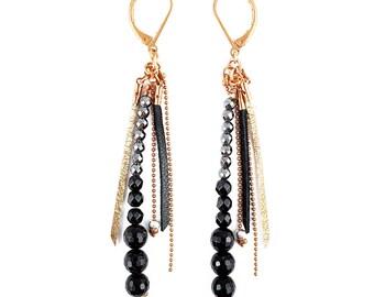 Black Bohemian earring