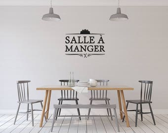 Salle à manger - vinyl on decal paper so you can decorate whatever you like – Home décor