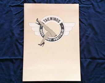 Tailwinds Nose-Art Portfolio-Signed & Numbered 850