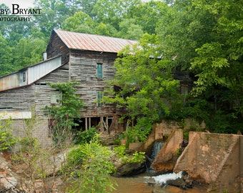 Howards Creek Mill, Vale, NC by Robby Bryant Photography