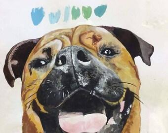 Personal pet portraits custom