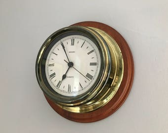 Ships Port Hole Clock