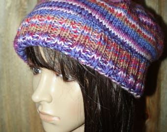 Slouchy Multicolored Hat