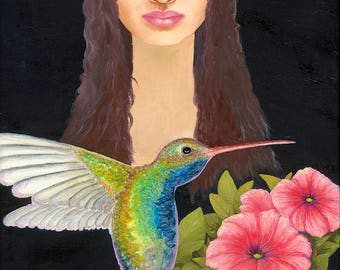 Hummingbird Spirit Archival Prints on Canvas and Fine Art Paper