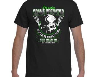 Crane Operator Shirt | Crane Operator T-Shirt | Crane Operators Tee | Crane Operator Gift