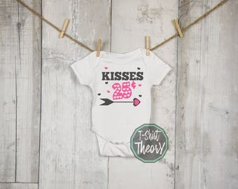 Kisses 25 Cents- Printed direct to Garment