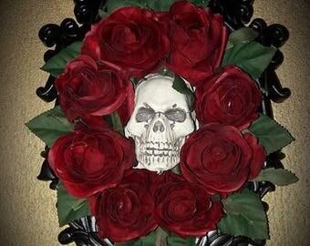 Gothic Skull Frame