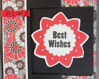 Tri-fold handmade card