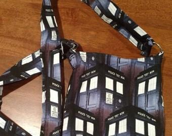 TARDIS Doctor Who small crossbody bag