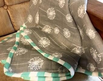 Double Layer Gauze Baby Blanket